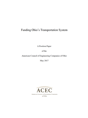 White Paper on Transportation Funding