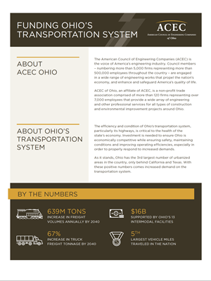 Transportation Funding Hand-Out