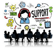 Support Solution Advice Help Care Satisfaction Quality Concept 51221118